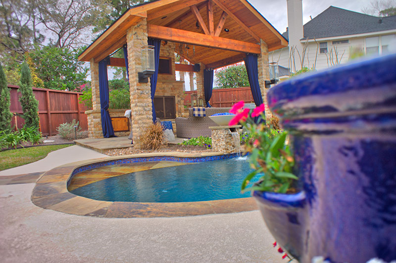 Best Custom Pool Builders The Woodlands Swimming Pool Construction